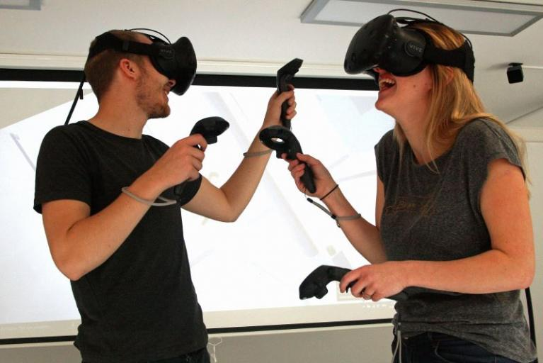 Stadt fördert Virtual-Reality-Center