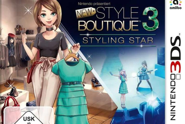 New Style Boutique 3: Styling Star (3DS)