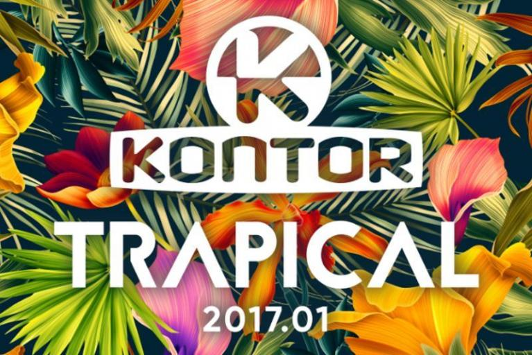 Kontor - Trapical 2017 (CD)