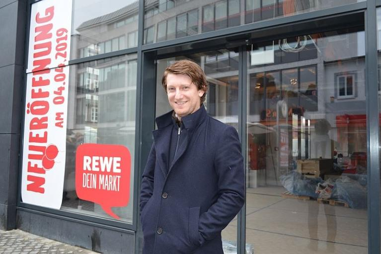 Neuer Rewe im City Point