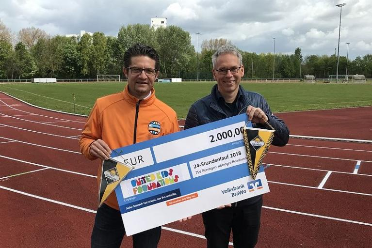 20.000 Kilometer für United Kids Foundations