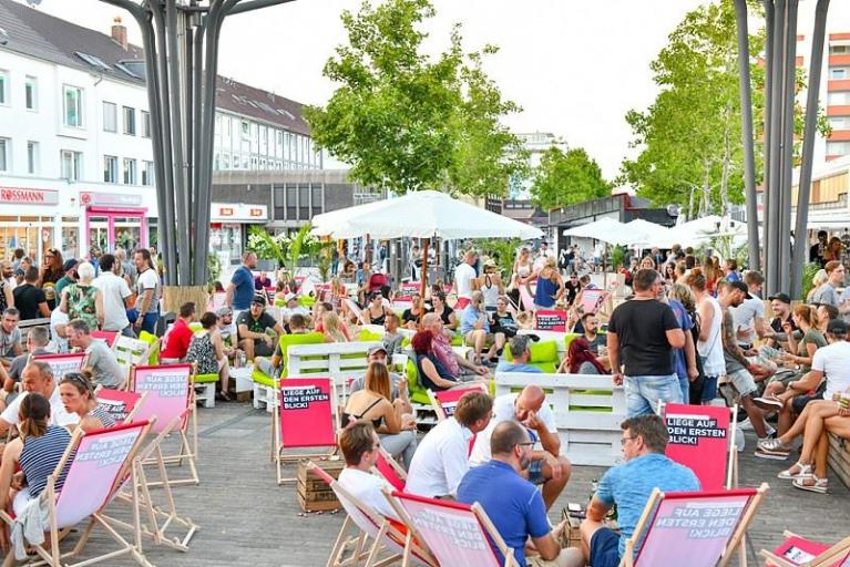 Gratis Open Air Kino am Sandstrand