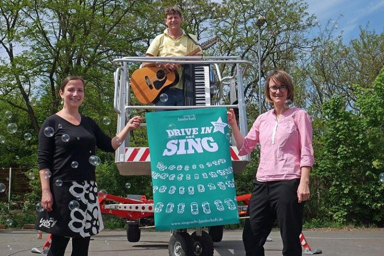 Drive in and sing! in Salzgitter