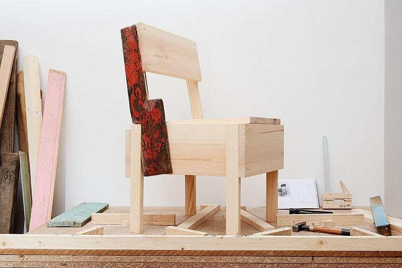 Cucula – Refugees Company for Crafts and Design, Stuhl Botschafter, seit 2014 © Cucula