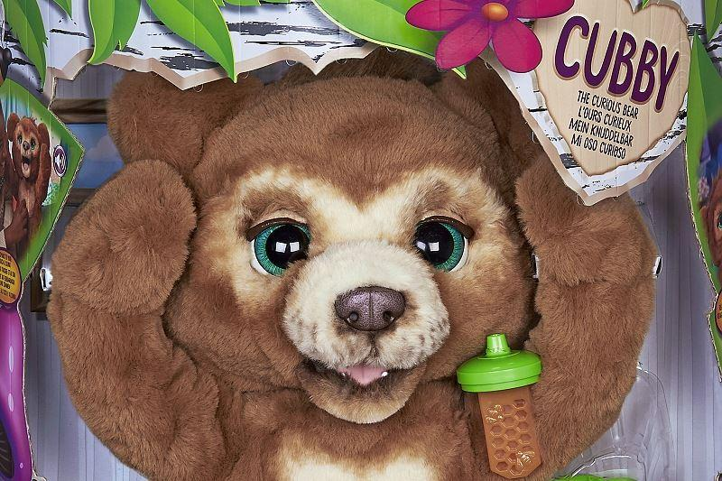 furReal Cubby mein Knuddelbaer Pack